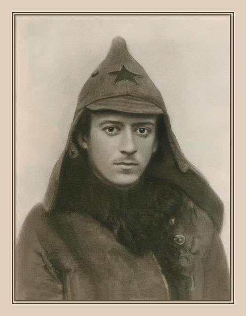 Vintage photograph of man.